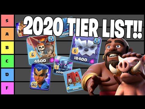 2020 CLASH OF CLANS TROOP TIER LIST!!