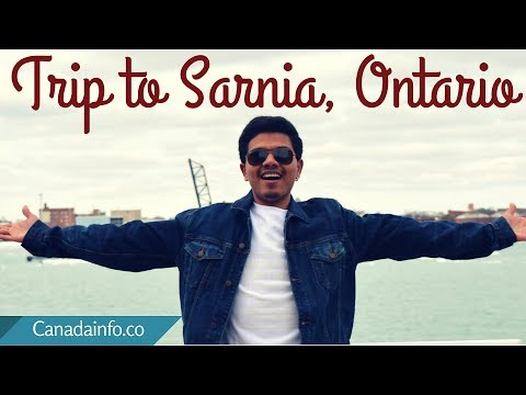 Travel Vlog | Trip to Sarnia, Ontario - St. Clair River, a Beauty!