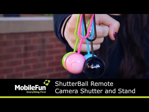 ShutterBall Remote Camera Shutter and Stand