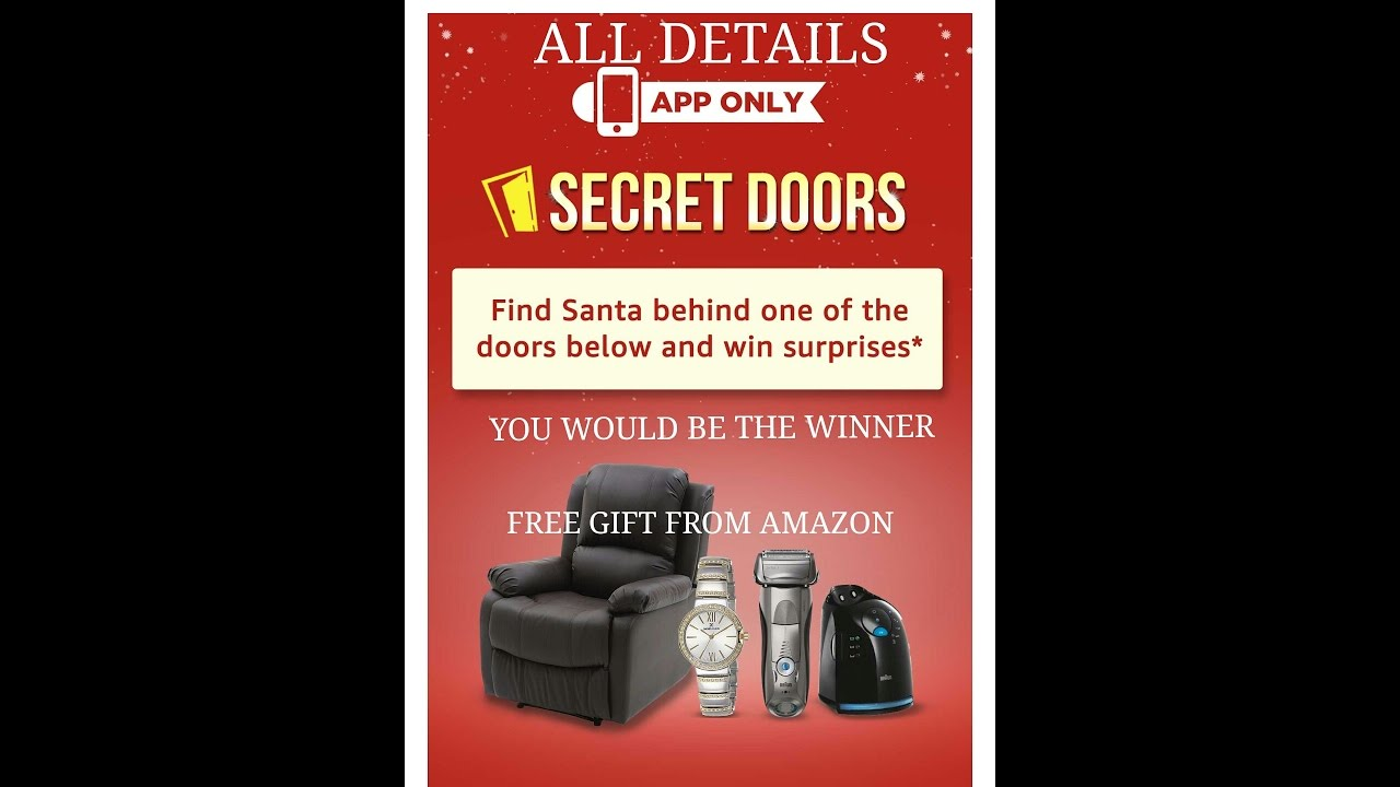 Amazon SECRET DOOR CONTEST - GET FREE PRODUCT - ALL DETAILS AND TRICK  sc 1 st  YouTube & Amazon SECRET DOOR CONTEST - GET FREE PRODUCT - ALL DETAILS AND ... pezcame.com