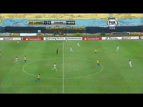 Deportivo Capiatá 3 - 1 Danubio Copa Sudamericana