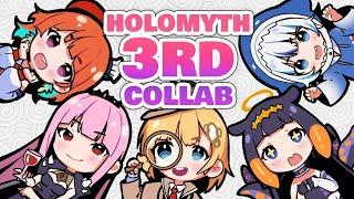【COLLAB】 3rd Full Member Collab!!! #hololiveEnglish #holoMYTH