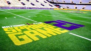 LSU Football Full Spring Game 2021