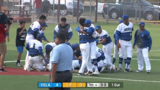 Edinburg Vela vs Los Fresnos Baseball game 3