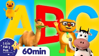 ABC Phonics Animals Song | More Nursery Rhymes and Kids Songs | ABC and 123 | Little Baby Bum