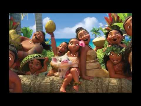 MOANA (VAIANA). Where You Are - English version for continental Europe