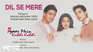 Dil Se Mere - Official Audio Song   Pyaar Mein Kabhi Kabhi   Shekhar RavjianiDil Se Mere