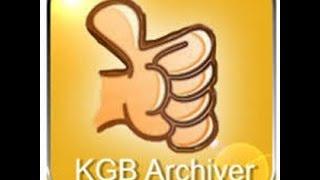 Süper dosya sıkıştırma(KGB ARCHİver)
