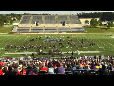 Tomball High School Band - 2013 UIL 4A Area F Marching Contest