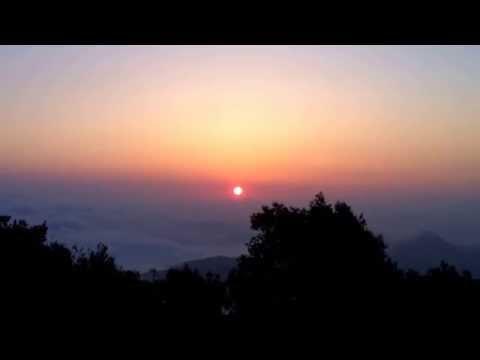 Montserrat,Sortida del Sol
