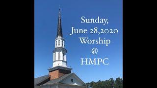 Sunday, June 28, 2020 Worship Service