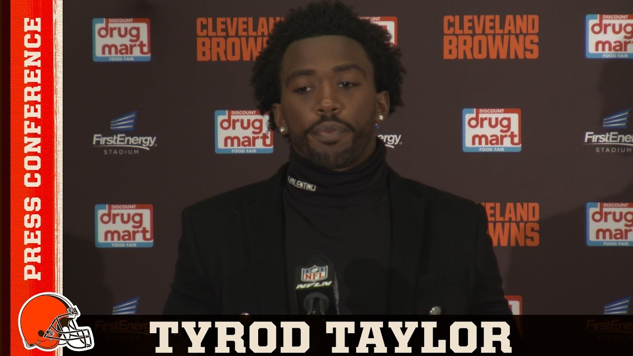 Tyrod Taylor Postgame Press Conference 09/09 | Cleveland Browns