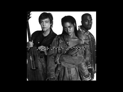 Rihanna & Kanye West & Paul McCartney - FourFiveSeconds (Audio)