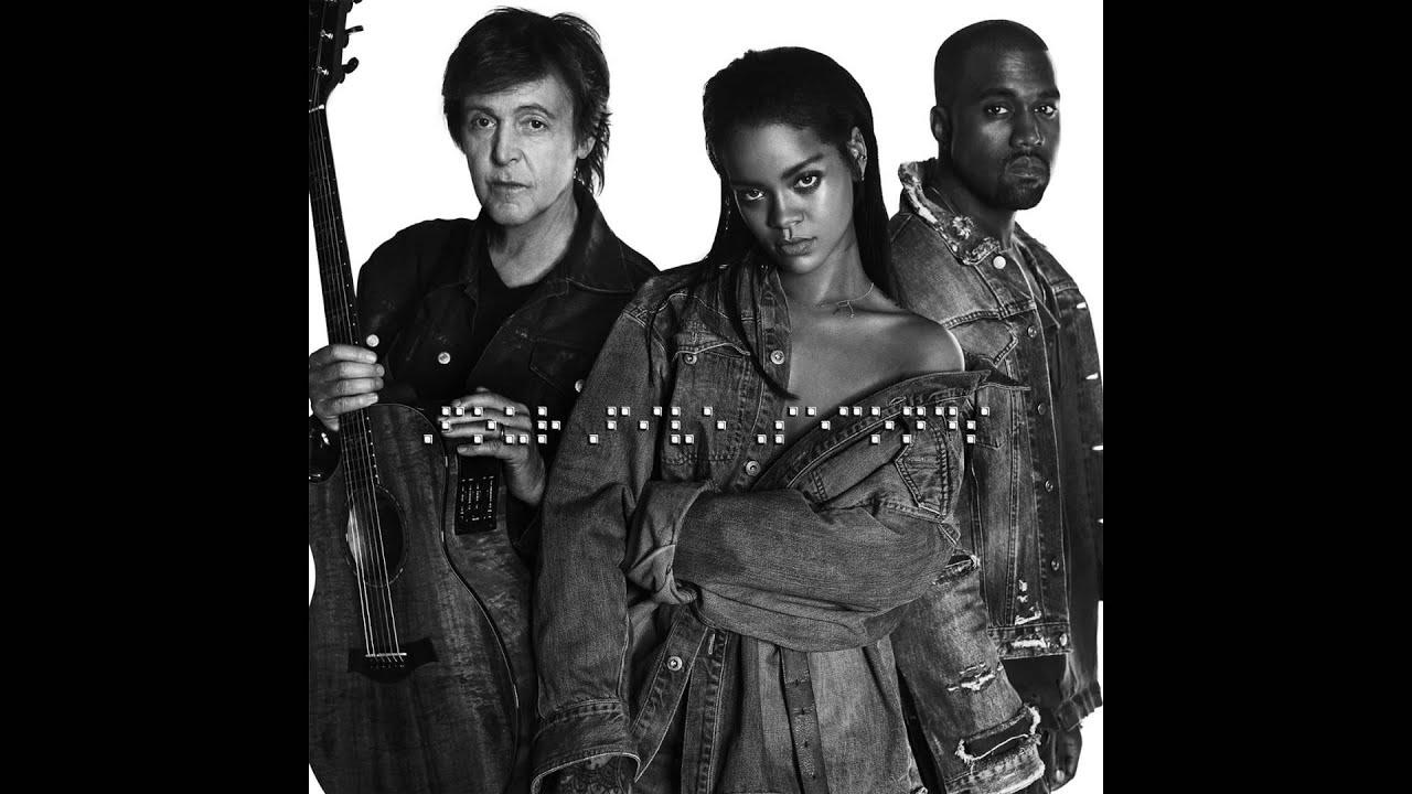 Download Rihanna & Kanye West & Paul McCartney - FourFiveSeconds (Audio)