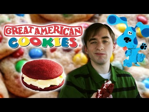 Great American Cookie Red Velvet Double Doozie- Food Review #197