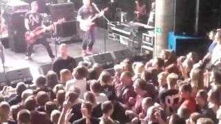 Pidżama Porno - Chłopcy idą na wojnę live Eter Wrocław 11.10.2015