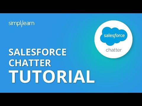 Salesforce Chatter Tutorial | Salesforce Training Videos For Beginners | Simplilearn