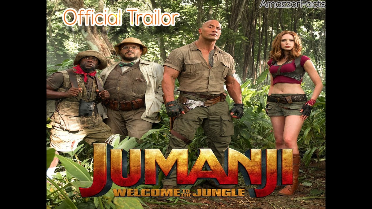 Jumanji Welcome To The Jungle -Official Trailor the rock ...