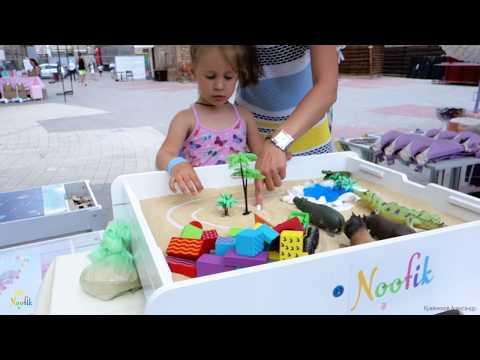 Детские световые столы для песочной анимации и творчества Noofik