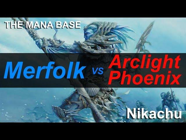 Merfolk vs Arclight Phoenix Ep.114 Pt.3 Modern MTG Gameplay November 2018 (Nikachu)