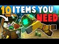 10 ITEMS YOU NEED for Minecraft's Update Aquatic!