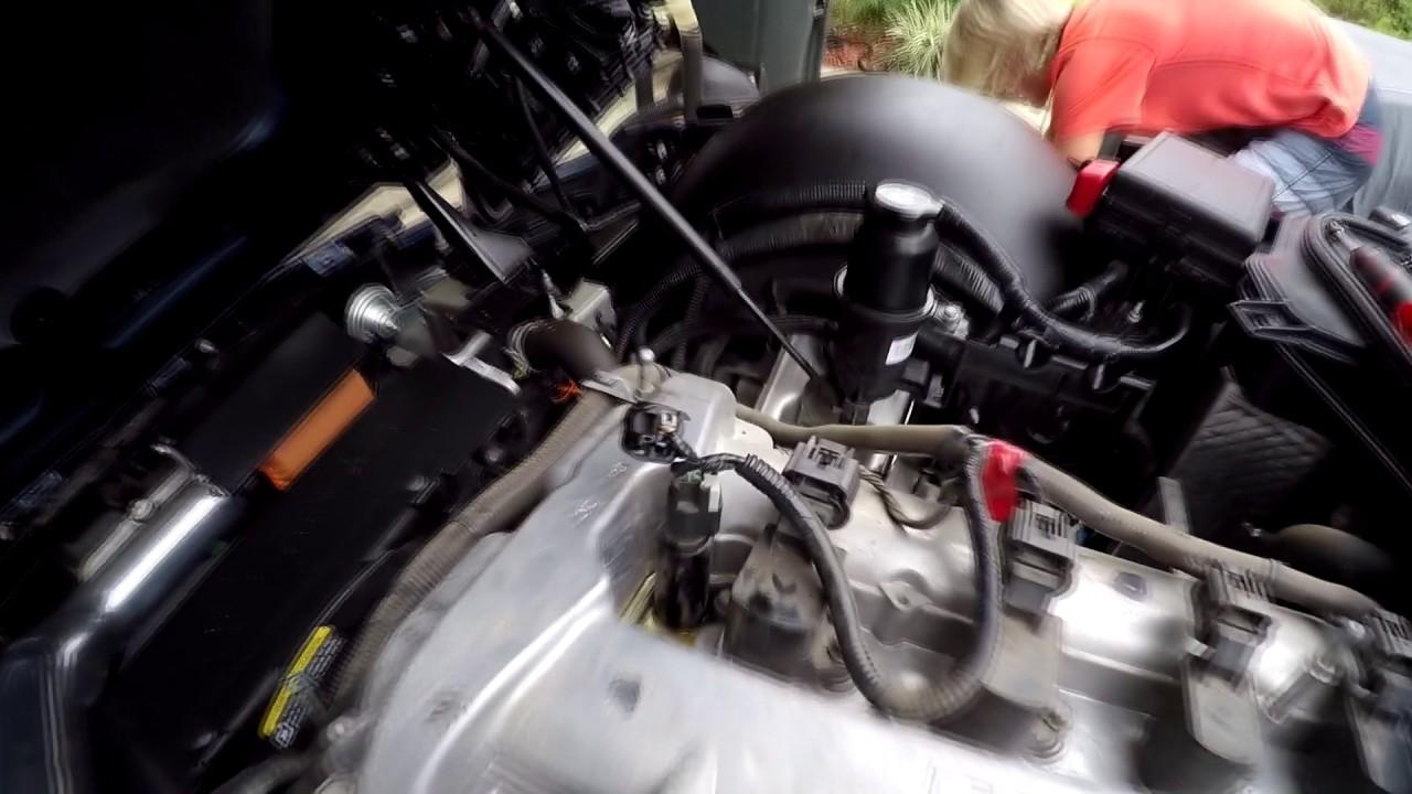 How to fix Saturn Sky solenoid actuator (P0010 P0011