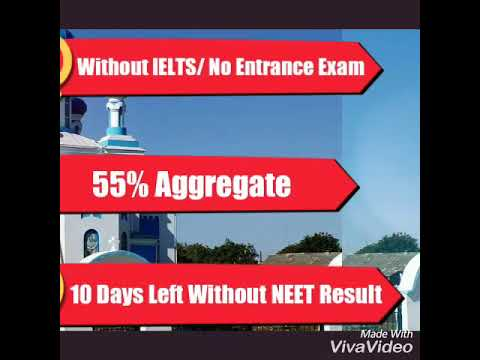 Study In UKRAINE  #Without IELTS #No Medical Entrance Exam #HURRY  !!!! 10 days to go