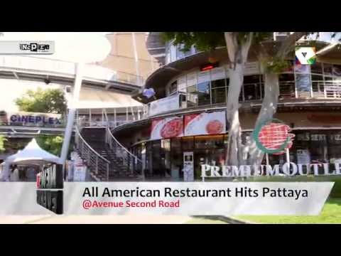 All american restaurant hits pattaya youtube for All american cuisine