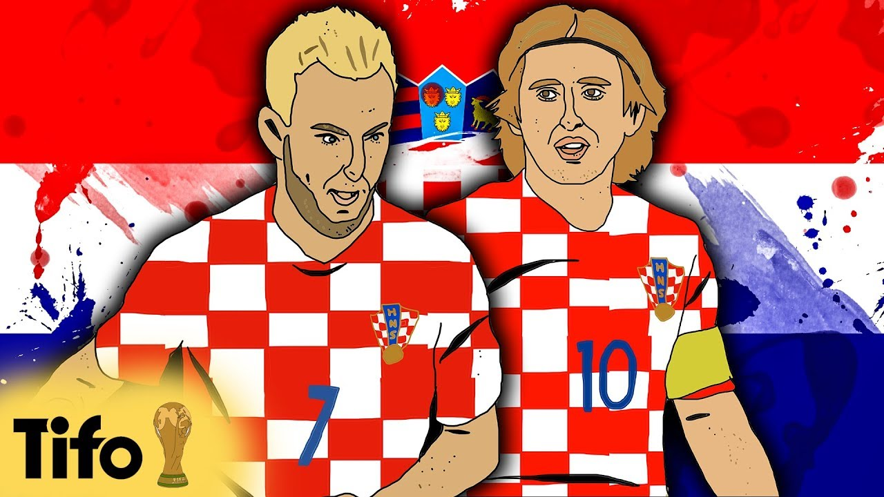 buy popular 86f24 7e2e8 FIFA World Cup 2018™: Croatia's Luka Modric & Ivan Rakitic