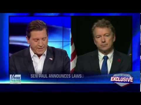 Sen. Rand Paul Filing Class-Action Lawsuit Against NSA