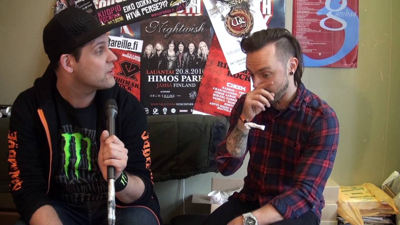 Bullet For My Valentine Interview With Matt Tuck @ South Park 11.6.2016    YouTube