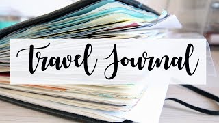 TRAVEL JOURNAL FLIP THROUGH