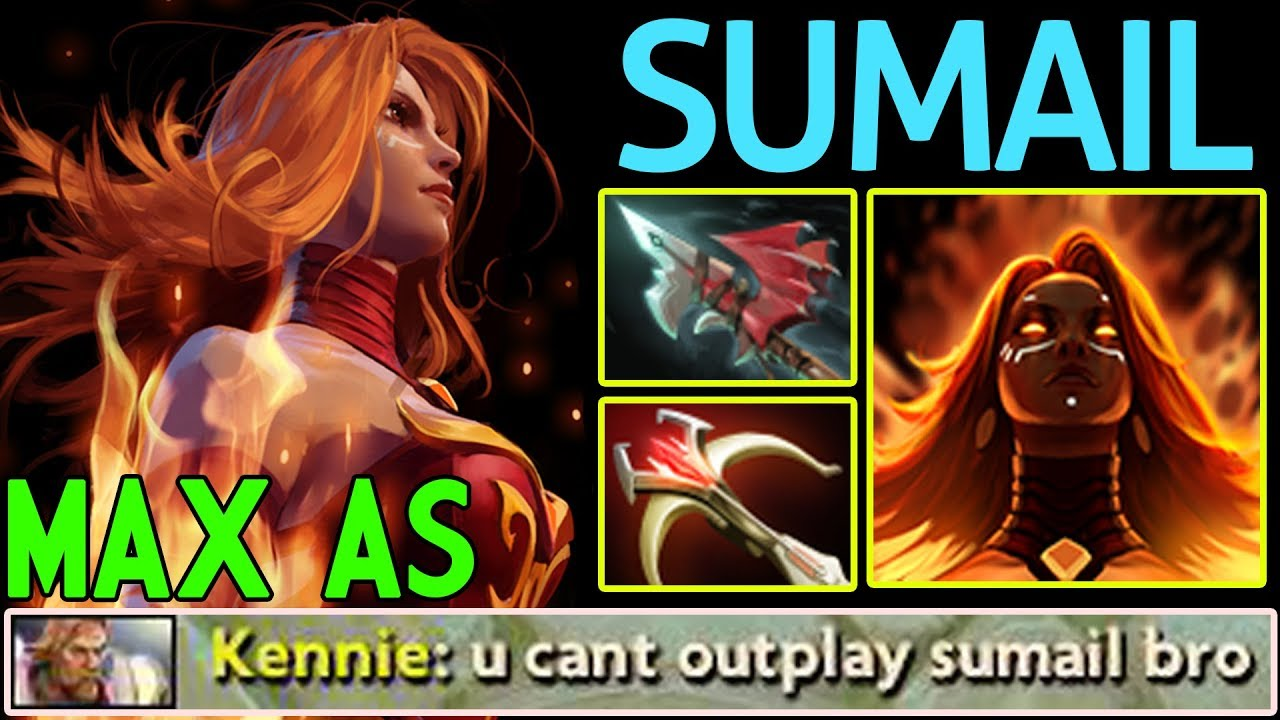 Max Speed Lina By Sumail Dota C