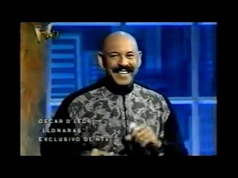 Oscar D'Leon - LLoraras - Salsa (Music Video HD) Audio Original | Dj Intro