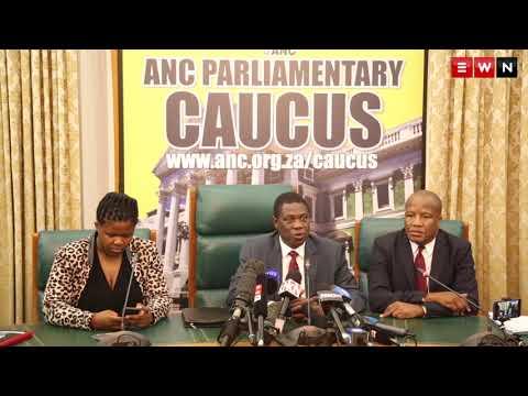 ANC Parliamentary caucus discuss Zuma's recall