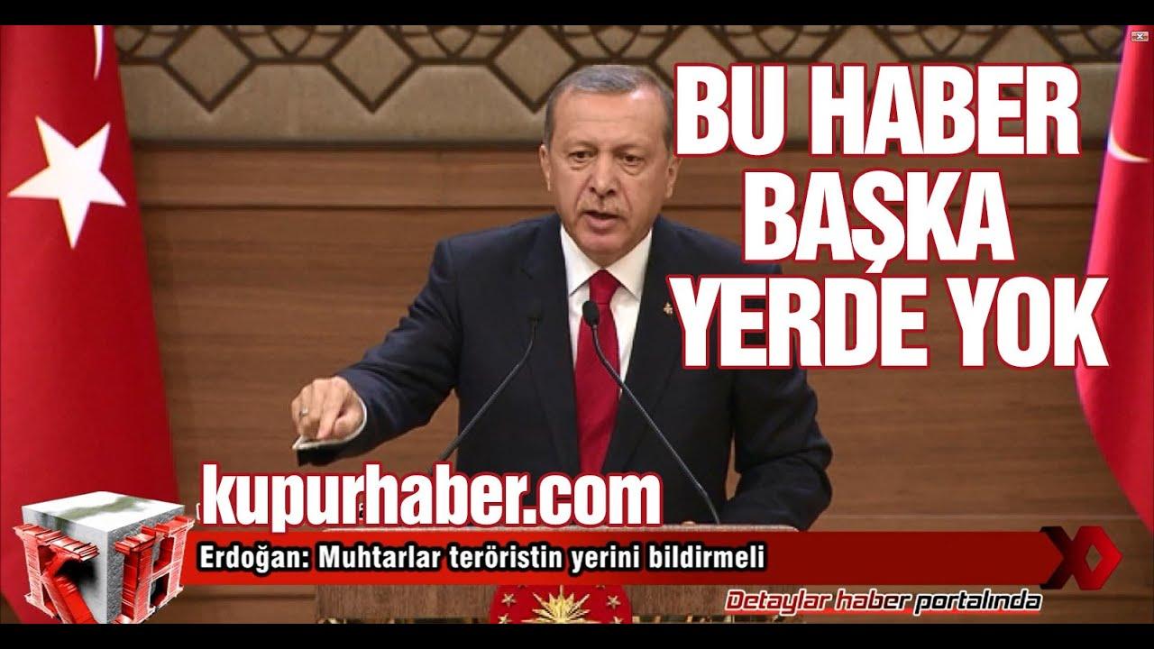 Erdoğan'dan Doğulu Muhtarlara Çağrı