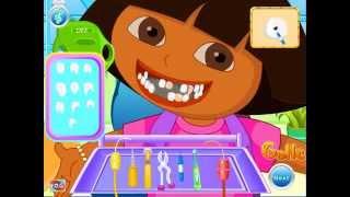 Dora Tooth Decoration (Даша и друзья лечат зубы) - прохождение игры