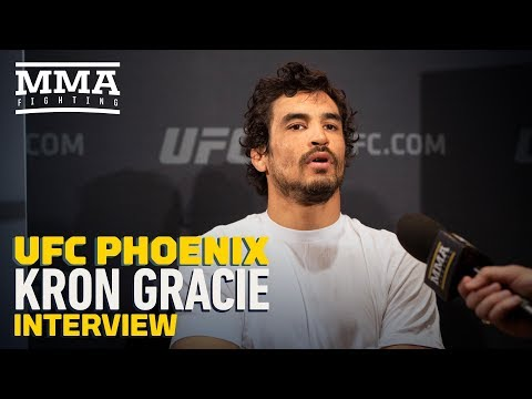 UFC Phoenix: Kron Gracie Says He Initially Wanted 'Somebody Better' Than Alex Caceres in UFC Debut