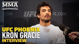 UFC Phoenix: Kron Gracie Says He Initially Wanted