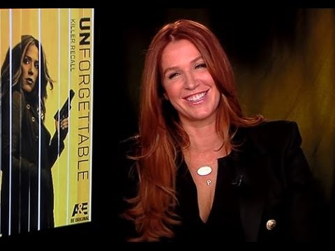 "Hilarious Poppy Montgomery ""Unforgettable"" Interview! Maxim, Male Strippers, Cosplay & More!"
