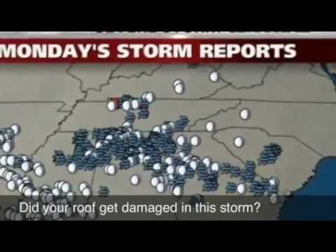 Hail Storm damage roof repair Stockbridge, ga | McDonough, Riverdale