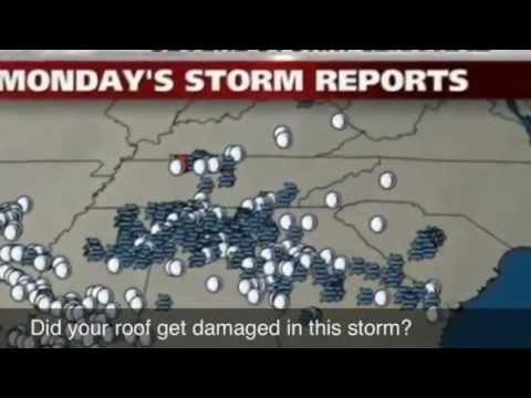 Hail Storm damage roof repair Stockbridge, ga   McDonough, Riverdale