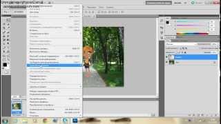 Как вырезать аватара в фотошопе и вставить на другой фон.