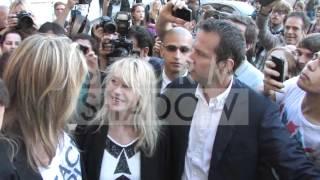 Sharon Stone, Pierce Brosnan, Jessica Alba and more at 2012 Versace show Paris