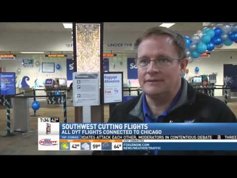 Southwest Airlines Cutting Direct Flights Out Of Dayton