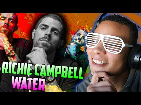 Richie Campbell - Water ft  Slow J, Lhast | REACT!