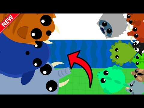 MOPE.IO 3 NEW ANIMALS vs 1000 ANIMALS!! //...