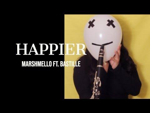 Happier - Marshmello Ft. Bastille (Clarinet Cover)