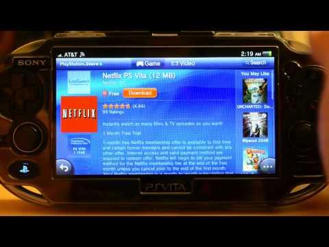 PS Vita apps handson: Netflix, LiveTweet and Flickr