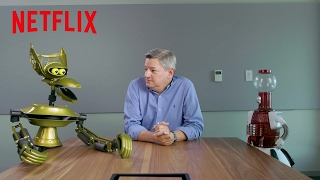 MST3K | Tom Servo & Crow Pitch Shows to Netflix [HD] | Netflix